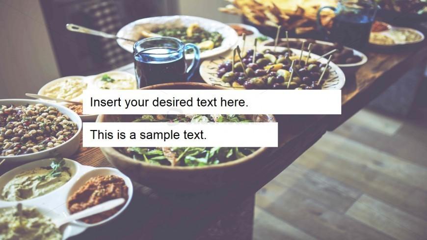 Food Slide Design Photo