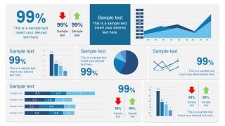 Scorecard Dashboard Design for PowerPoint