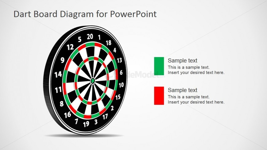 Dartboard Design for PowerPoint