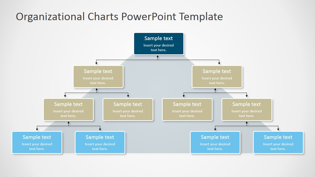 Organizational charts powerpoint template slidemodel for Organizational chart template doc