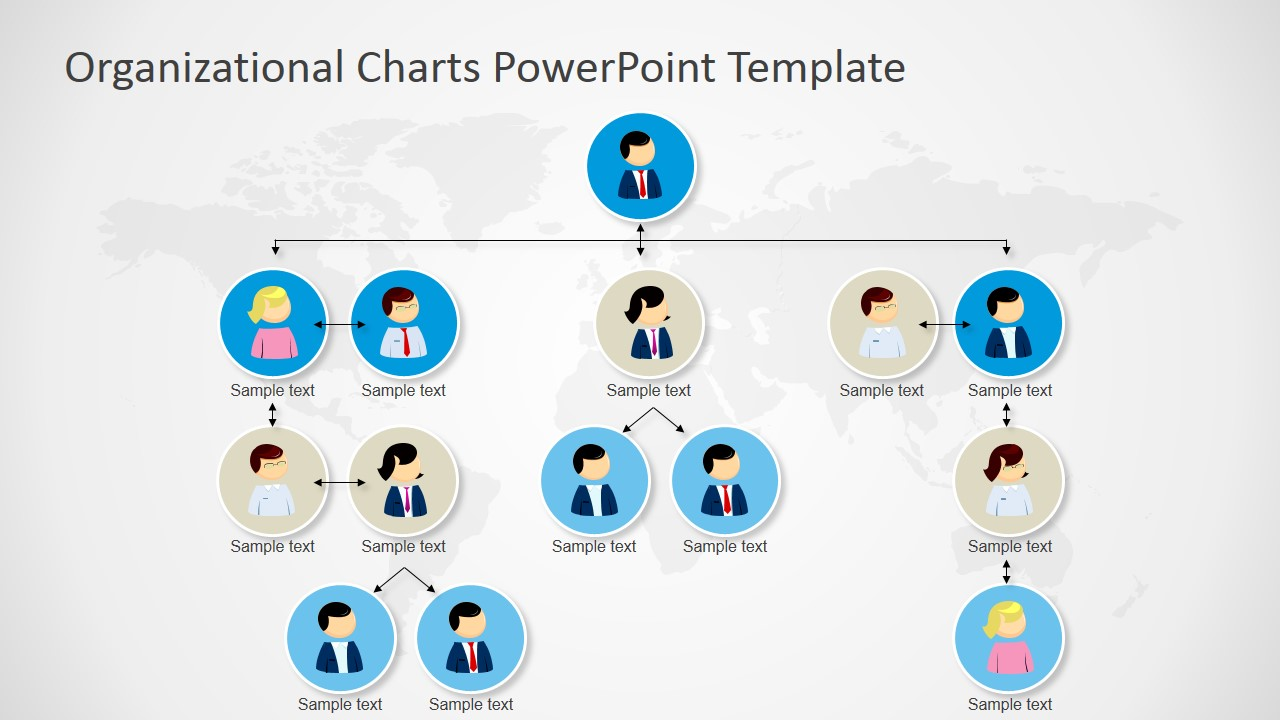 ppt organizational chart - Free Organizational Chart Template For Mac