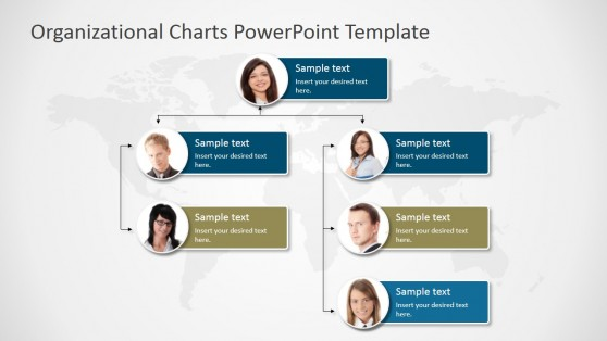 organizational chart template doc - organization powerpoint templates
