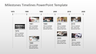 PowerPoint Timeline Pictures Board