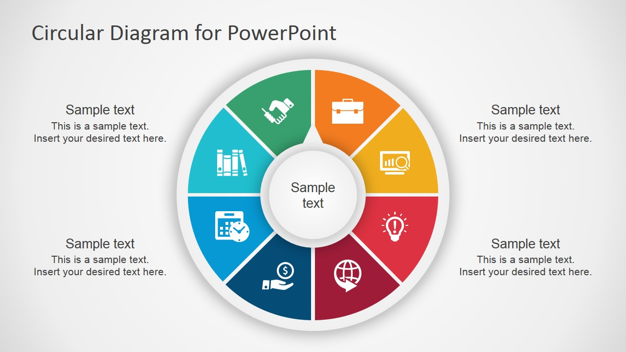 circular diagram for powerpoint slidemodel