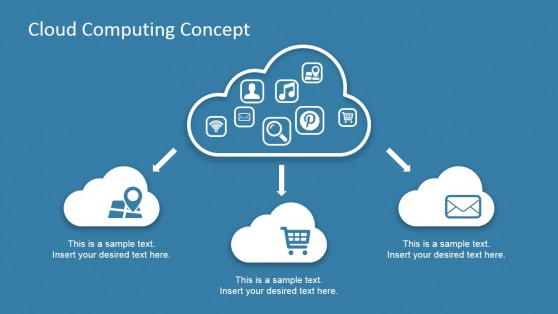 Cloud Computing Powerpoint Templates