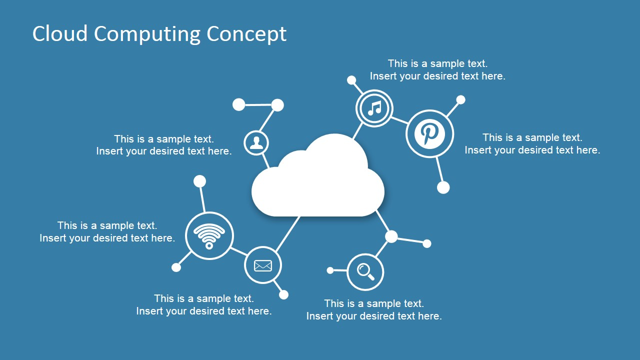cloud computing concept design for powerpoint slidemodel
