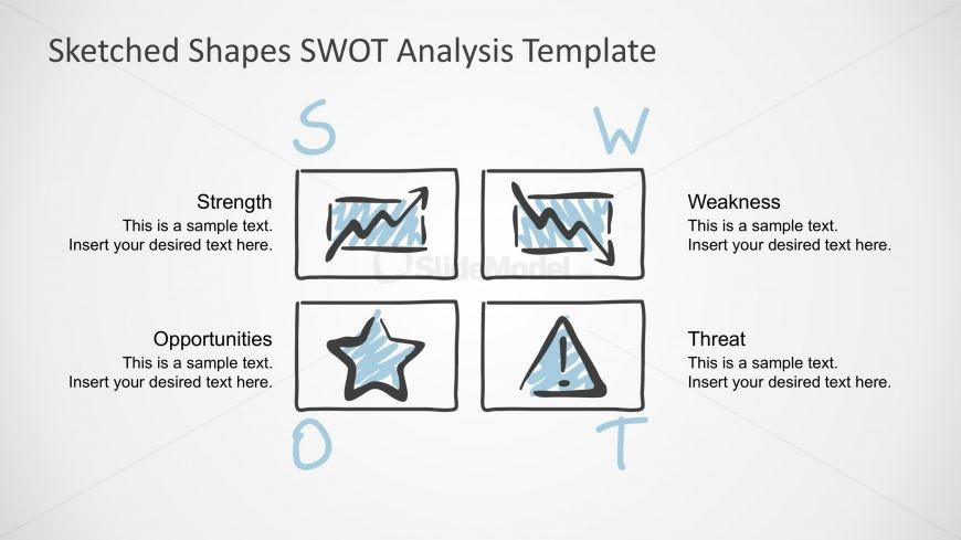 PPT SWOT Analysis PowerPoint Tempalte