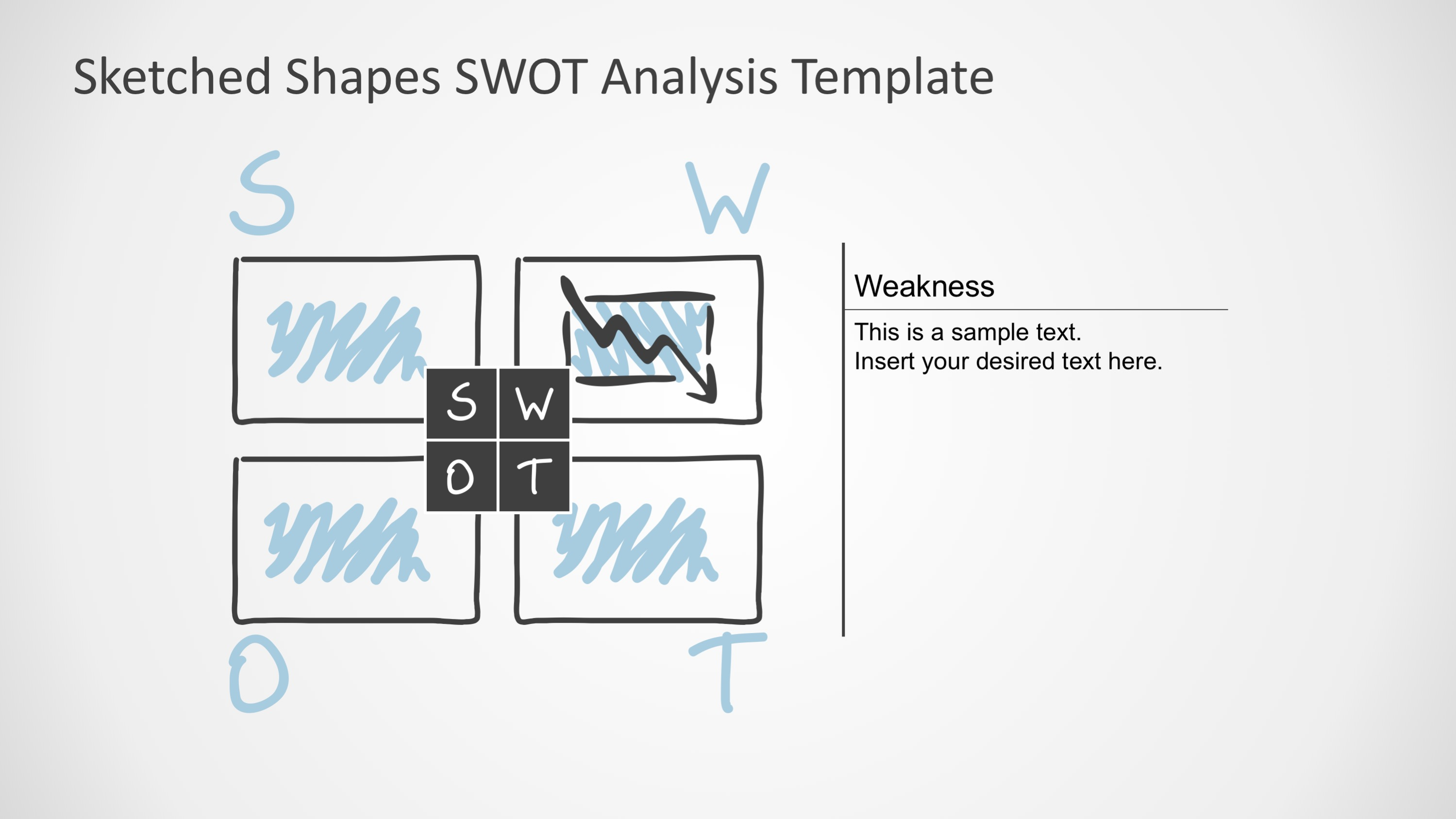 PPT Template SWOT Analysis
