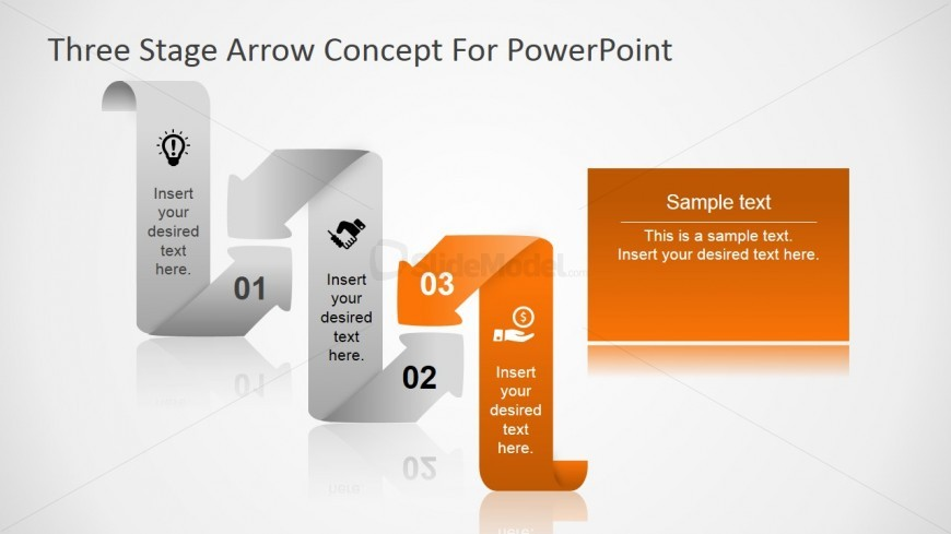 Images of Curved Arrows PowerPoint Shapes