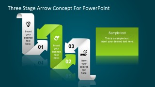 PowerPoint Diagrams with Arrows Shapes