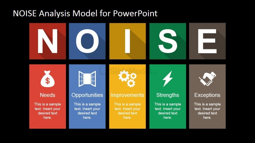 PowerPoint Template for NOISE Analysis