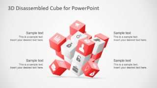 3D Cube Concept for PowerPoint
