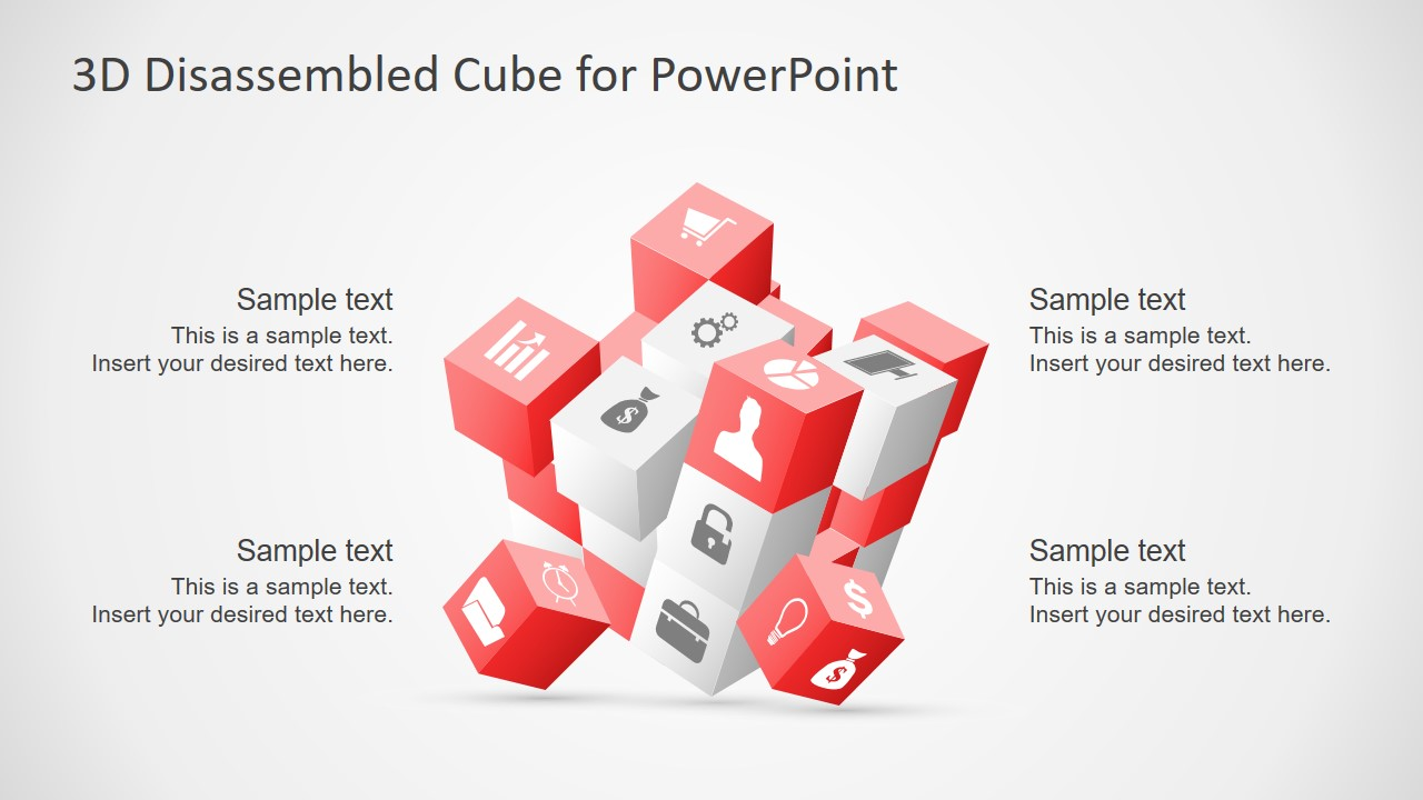 Infographic Presentation of Rubik Blocks