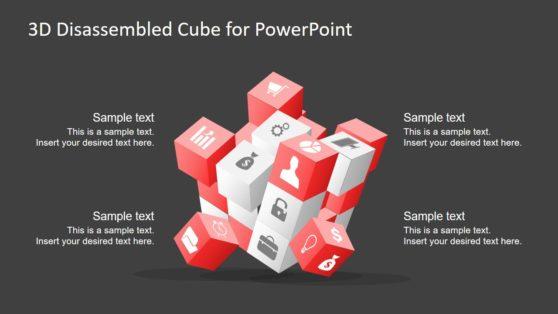 PPT 3D Cube Concept Design