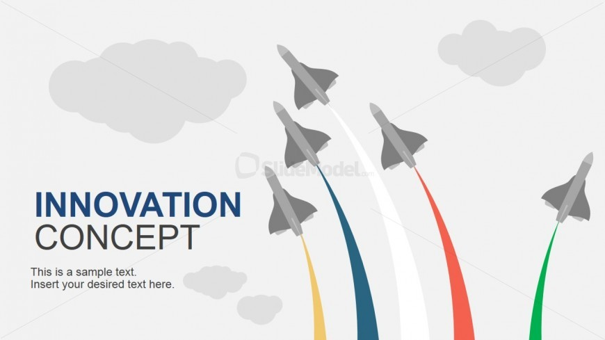 PowerPoint Template Featuring Innovation Concept
