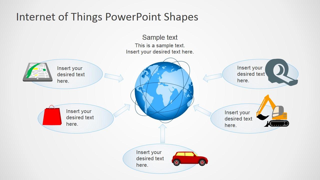 Internet of things powerpoint template slidemodel powerpoint presentations professional clipart shapes featuring internet of things toneelgroepblik Gallery