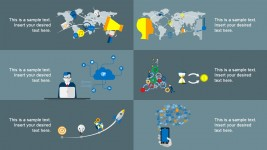 Internet Of Things Vectorial Shapes for PowerPoint