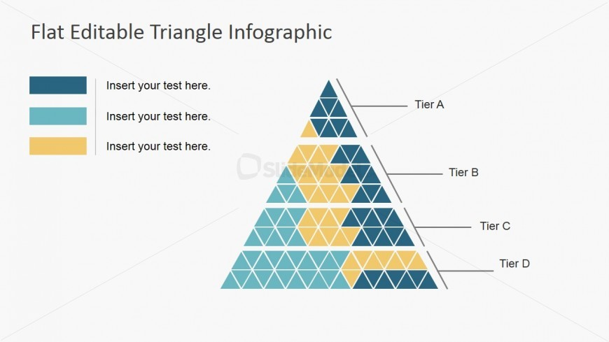 Powerpoint Template Triangle Shapes Infographic Slidemodel