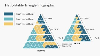 PPT Shapes Triangle for Infographics
