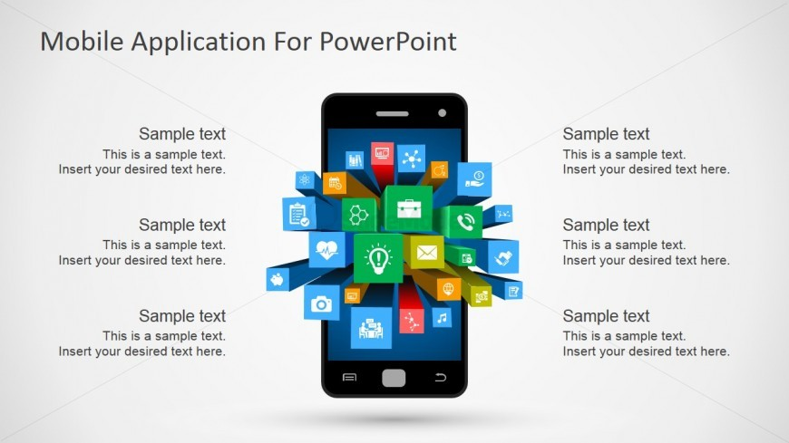 Android powerpoint template clipart slidemodel for Mobile app privacy policy template