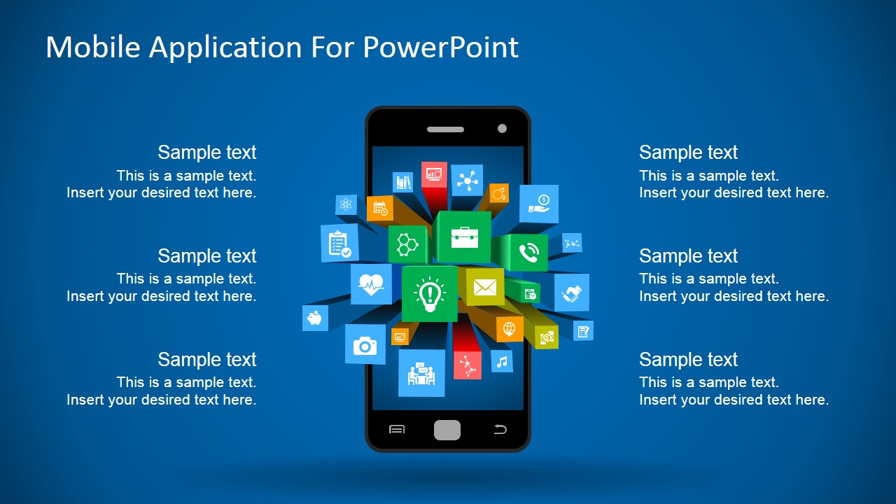 Powerpoint template app images powerpoint template and for App templates free