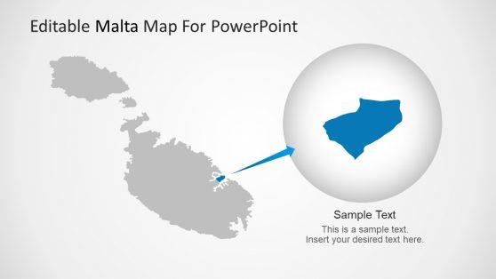 Zoomed Valletta Location Slide