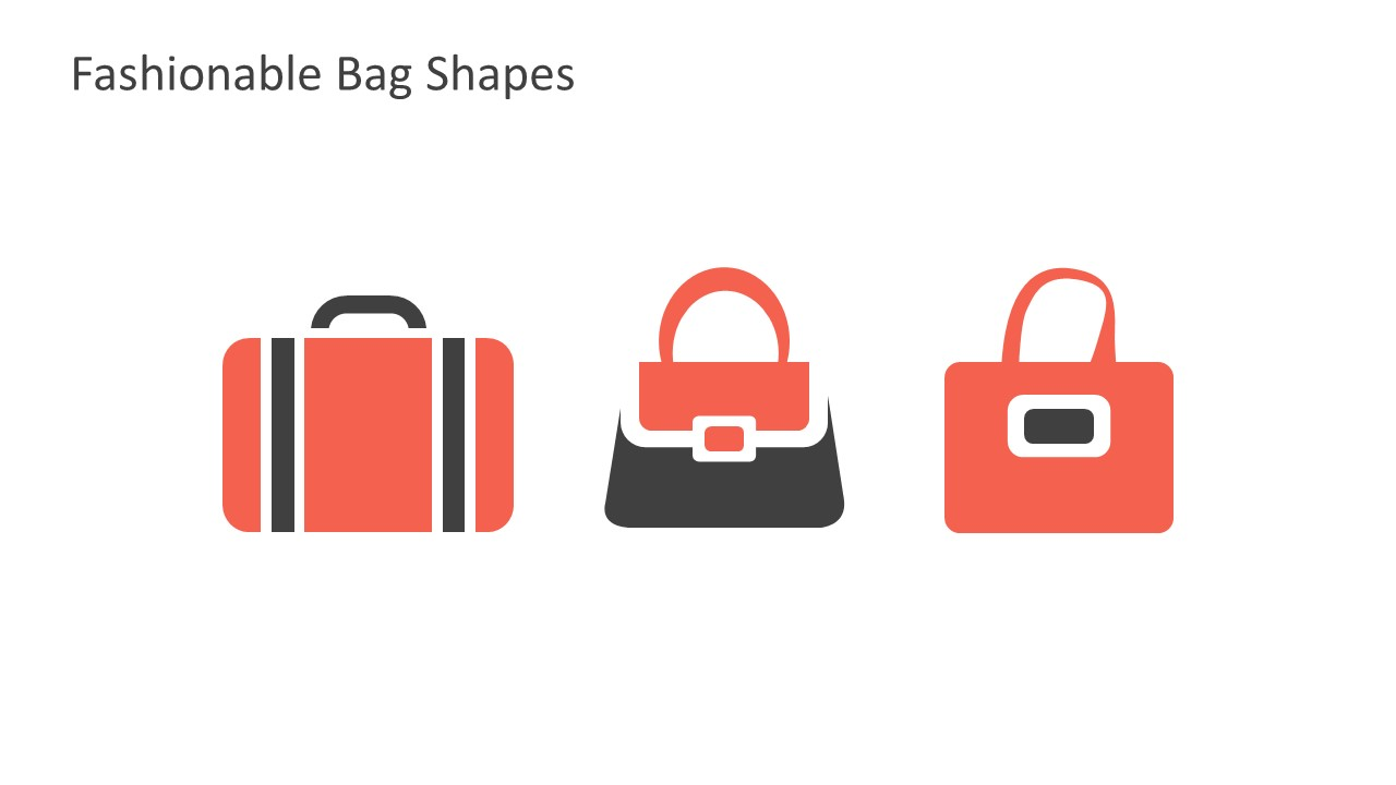 Beautiful Fashion Bags PowerPoint Templates
