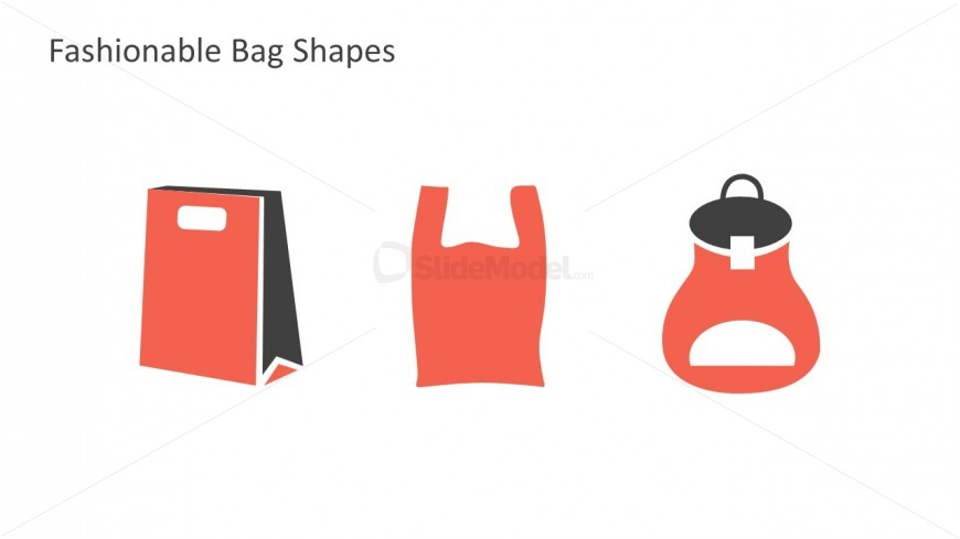 Editable Retail Bags For PowerPoint Slides