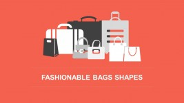 Fashionable Retail Bags For Business PowerPoint