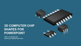 Computer Tech Chip PowerPoint Template