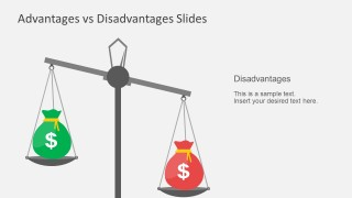 PowerPoint Business Presentations Advantage Disadvantage
