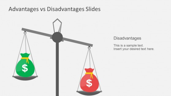 PowerPoint Templates Advantage Disadvantage For Business