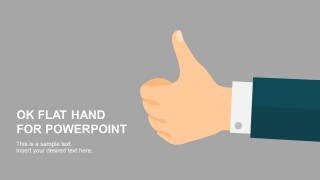 OK Flat Hand Gestures for PowerPoint