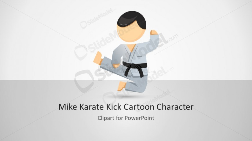 Mike karate martial arts for powerpoint slidemodel karate martial arts powerpoint template toneelgroepblik