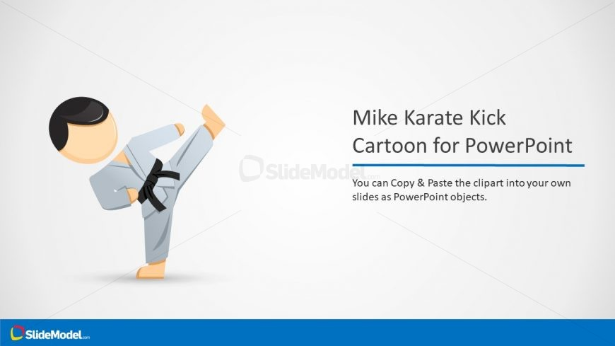 Mike Cartoon Clipart Template