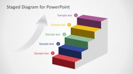 5-Steps Staged Diagram PowerPoint