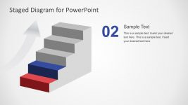 Editable 5 Steps Diagram PowerPoint