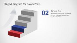 Editable 5 Steps Diagram PowerPoint