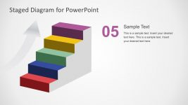 Colorful Stage Diagram PowerPoint