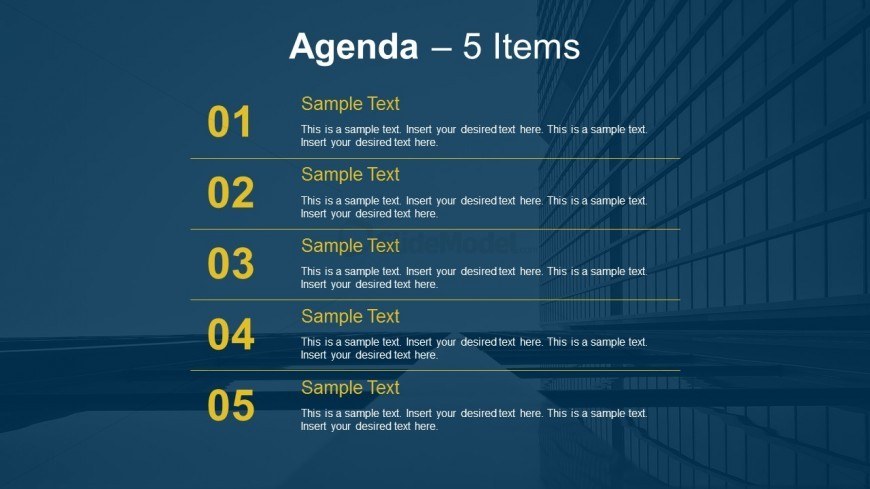 Simple Agenda Outline PowerPoint Templates