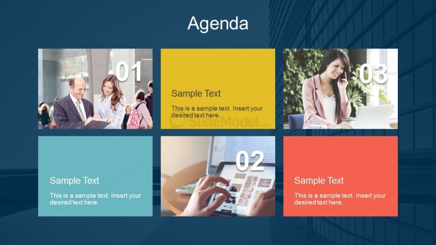 Agenda Highlight Summary For PowerPoint