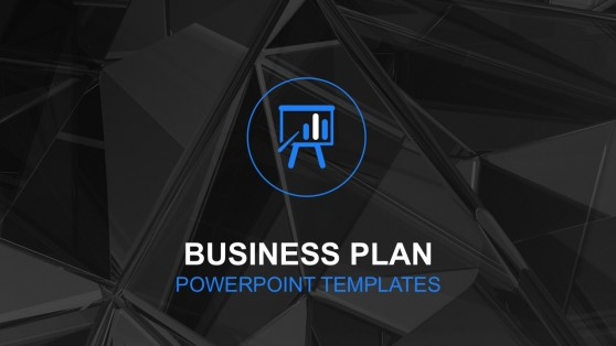 Business Plan PowerPoint Templates Cover Slide