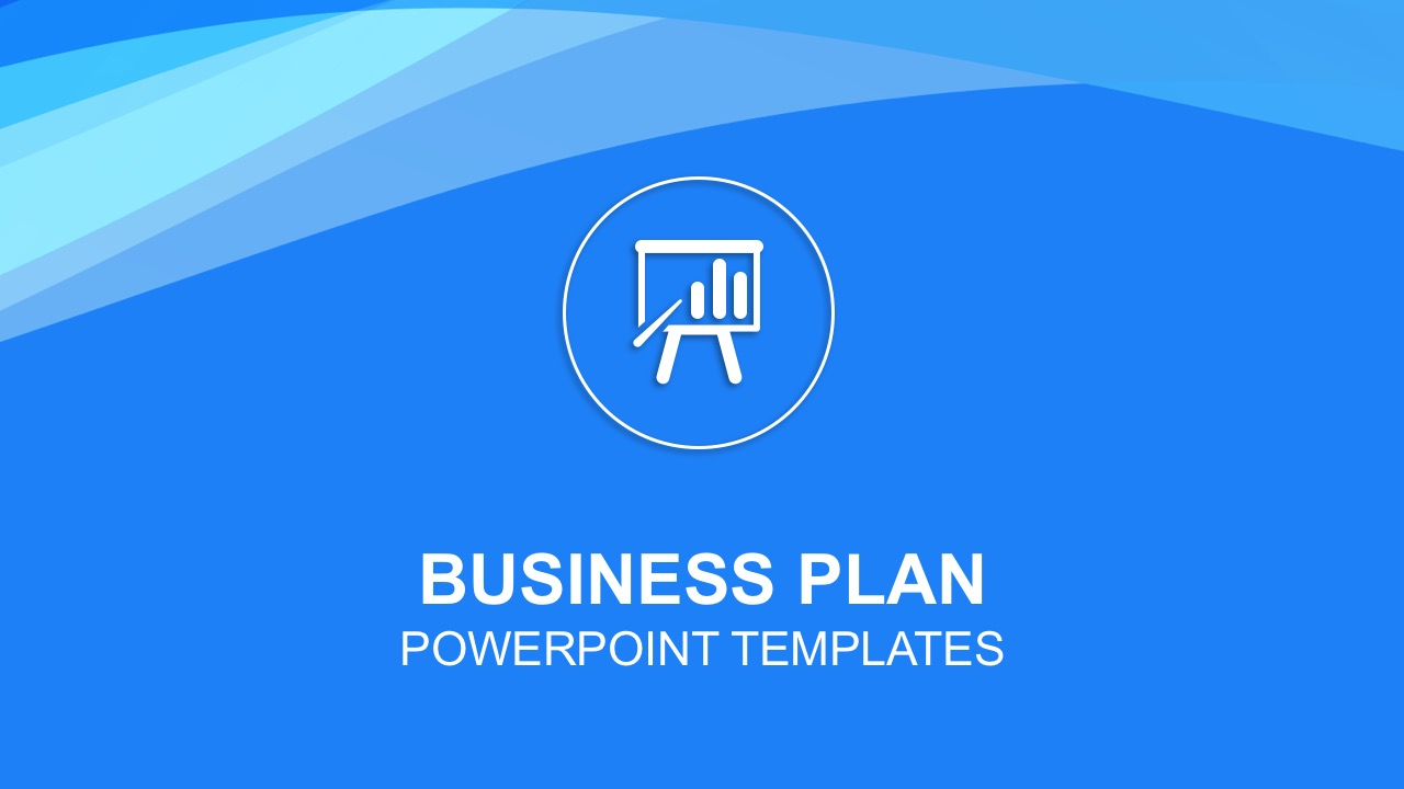 business plan powerpoint templates, Modern powerpoint