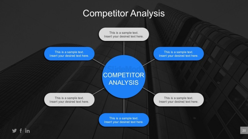 Business Competitor Comparison Powerpoint Report  Slidemodel