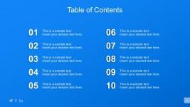 table of content slide design - slidemodel, Powerpoint templates