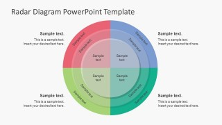 Spiderweb Style Diagram PowerPoint Templates