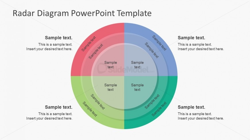 Simple Style Radar Diagram Powerpoint Templates Slidemodel