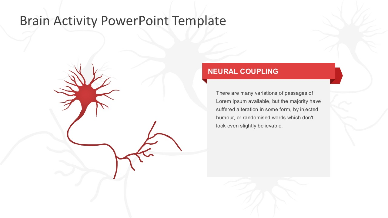 Brain Activity PowerPoint Template