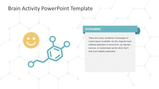 Brain Dopamine Activity PowerPoint Slides