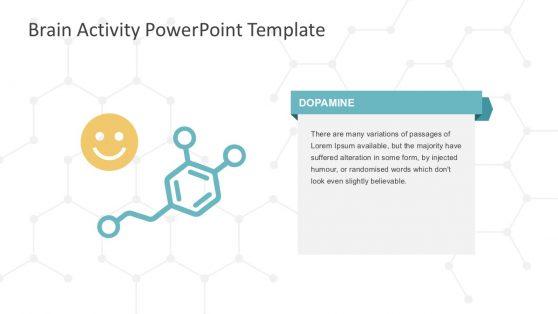 Brain Dopamine Activity PowerPoint Slides
